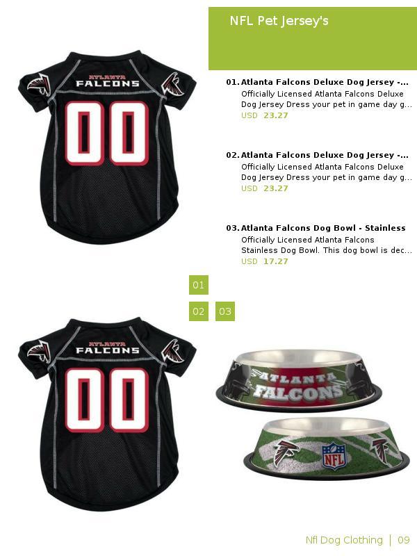 premium selection c4a4f 56530 Zination   NFL Pet Jersey's